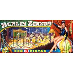 BERLIN ZIRKUS. CON 3 PISTAS