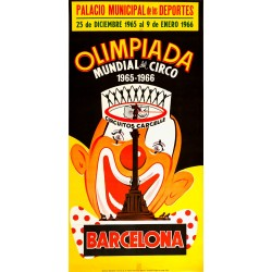 OLIMPIADA MUNDIAL DEL CIRCO 1965·1966