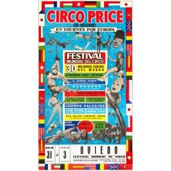 CIRCO PRICE. EN TOURNEE POR EUROPA