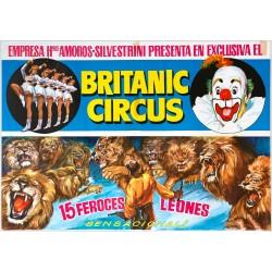 BRITANIC CIRCUS. 15 FEROCES LEONES
