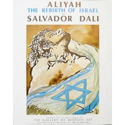 ALIYAH, THE REBIRTH OF ISRAEL. SALVADOR DALI