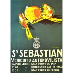 SAN SEBASTIAN. V. CIRCUITO AUTOMOVILISTA