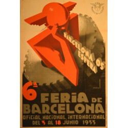 6ª FIRA DE BARCELONA. 1933 BARCELONA US ESPERA!