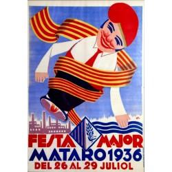 FESTA MAJOR MATARO 1936