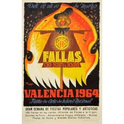 FALLAS DE SAN JOSE. VALENCIA 1964