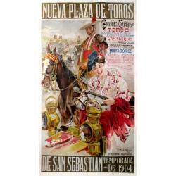 NUEVA PLAZA DE TOROS DE SAN SEBASTIAN 1904