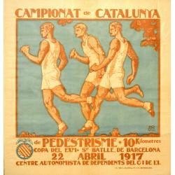 CAMPIONAT DE CATALUNYA DE PEDESTRISME. 10 KM.