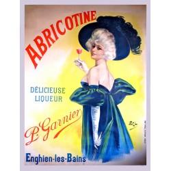 ABRICOTINE. DELICIEUSE LIQUEUR. ENGHIEN-LES-BAINS