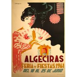 ALGECIRAS FERIA Y FIESTAS 1961