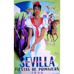 SEVILLA FIESTAS DE PRIMAVERA 1956