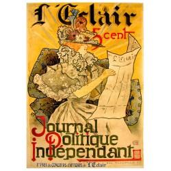 L'ECLAIR. JOURNAL POLITIQUE INDEPENDANT