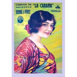 """FABRICA DE ANISADOS """"LA CABAÑA"""". BERNAL Y PEREZ"""