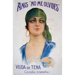 "ANIS ""NO ME OLVIDES"". VIUDA DE TENA"
