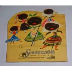 PHILIPS SONOVISION MODELOS 1958