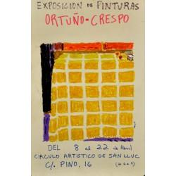 ORTUÑO - CRESPO (EXPOSICIÓN DE PINTURAS)