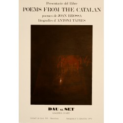 TAPIES. POEMS FROM THE CATALAN JOAN BROSSA