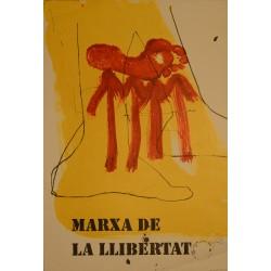 TAPIES. MARXA DE LA LLIBERTAT