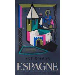 ESPAGNE, ART ROMAN