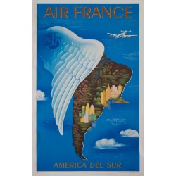 AIR FRANCE. AMERICA DEL SUR