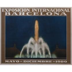 EXPOSICION INTERNACIONAL BARCELONA 1929 (I)
