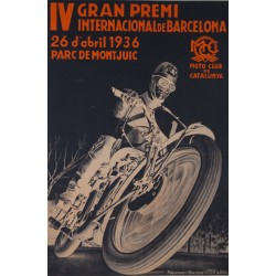 IV GRAN PREMI INTERNACIONAL DE BARCELONA 1936