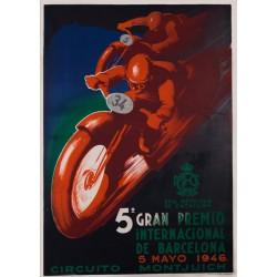 5º GRAN PREMIO INTERNACIONAL DE BARCELONA 1946