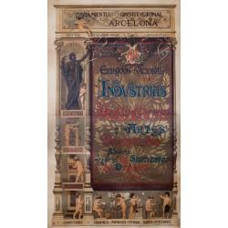 EXPOSICIÓN INDUSTRIAS ARTISTICAS. 1892.BARCELONA