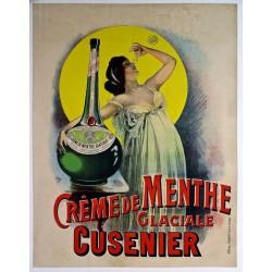 CREME DE MENTHE GLACIALE CUSENIER...