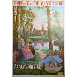 PARAY-LE-MONIAL. CHEMINS DE FER DE PARIS-LYON-MEDITERRANEE