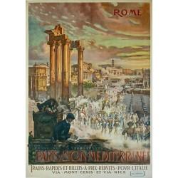 ROME. PARIS-LYON-MEDITERRANEE