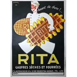 RITA GAUFRES SECHES ET FOURREES...