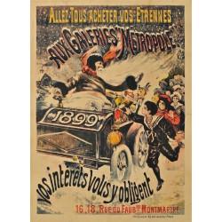 AUX GALERIES METROPOLE. 1899