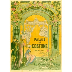 EXPO UNIVERSELLE PARIS 1900.PALAIS DU COSTUME