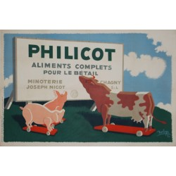 PHILICOT. ALIMENTS COMPLETS POUR LE BETAIL...