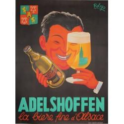 ADELSHOFFEN - LA BIERE FINE D'ALSACE...