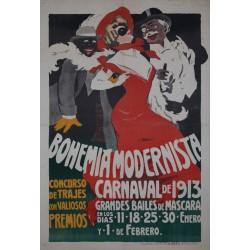 CARNAVAL DE 1913. BOHEMIA MODERNISTA
