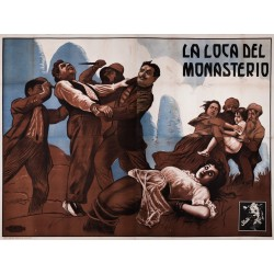 LA LOCA DEL MONASTERIO. STUDIO FILMS. 1917