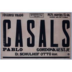 CASALS PABLO GORDONKAESTJE 1928