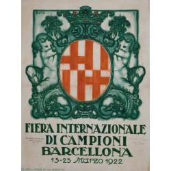 FIERA INTERNAZIONALE DI CAMPIONI BARCELLONA 1929