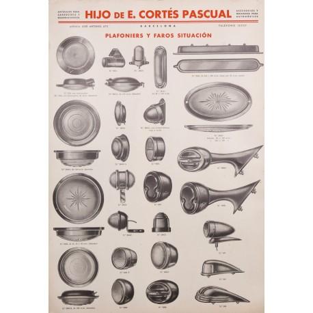 HIJO DE E. CORTES PASCUAL, FAROS