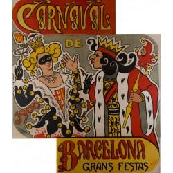 CARNAVAL DE 1900. BARCELONA GRANDES FIESTAS