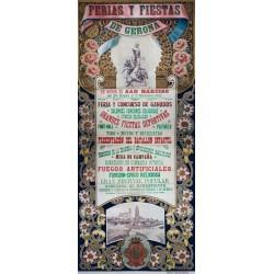 FERIAS Y FIESTAS GERONA 1912