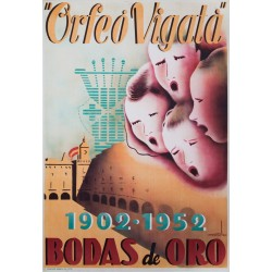 ORFEO VIGATA 1902 · 1952 BODAS DE ORO
