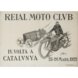 REIAL MOTO CLUB. IV VOLTA A CATALUNYA