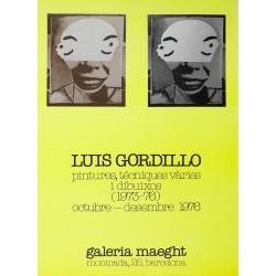 LUIS GORDILLO. 1976. GALERIA MAEGHT