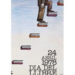 24 ABRIL 1978 DIA DEL LLIBRE. CESC