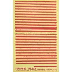 FERNANDO MILLAN. PROGRESION NEGATIVA / 2/ 1967
