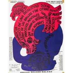 LIGAZON - EL EMBRUJADO. TEATRO MORATIN. BARCELONA 1972