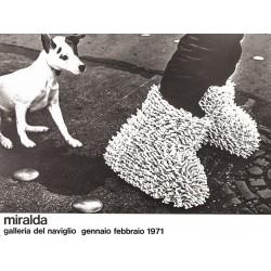MIRALDA. GALERIA DEL NAVIGLIO 1971
