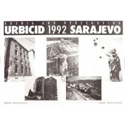 URBICID 1992 SARAJEVO. BOSNIA AND HERZEGOVINA